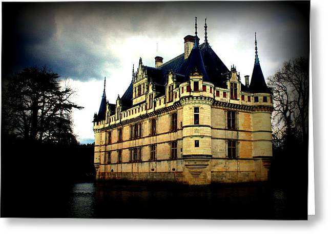 Chateau Greeting Cards - Chateau of Azay le Rideau Greeting Card by Susie Weaver