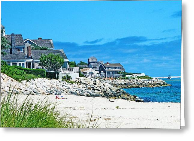 Best Sellers -  - Chatham Greeting Cards - Chatham Cape Cod Greeting Card by Lizi Beard-Ward