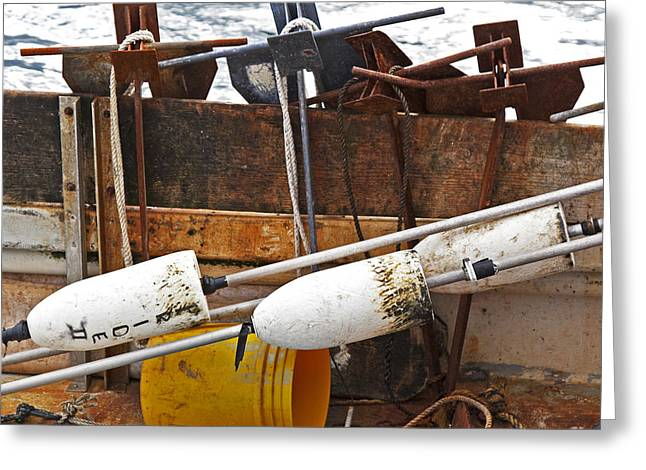 Chatham Greeting Cards - Chatham Fishing Greeting Card by Charles Harden