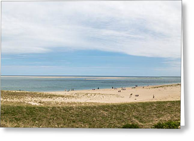 Chatham Greeting Cards - Chatham Lighthouse Beach Greeting Card by Nestor Colon