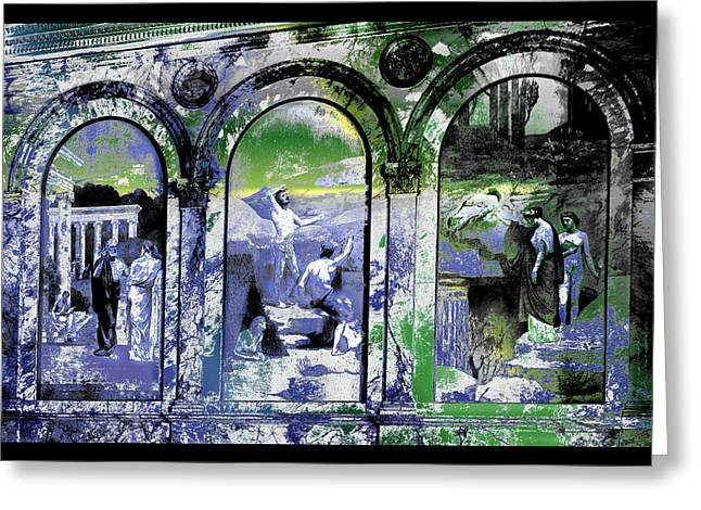 Chavannes Astronomy Philosophy Greeting Card by Robert G Kernodle