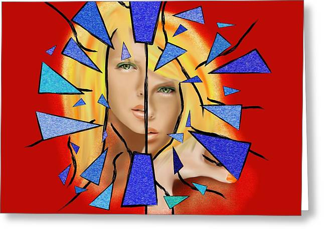 Chaziolia V1 - Charlize Theron Greeting Card by Cersatti