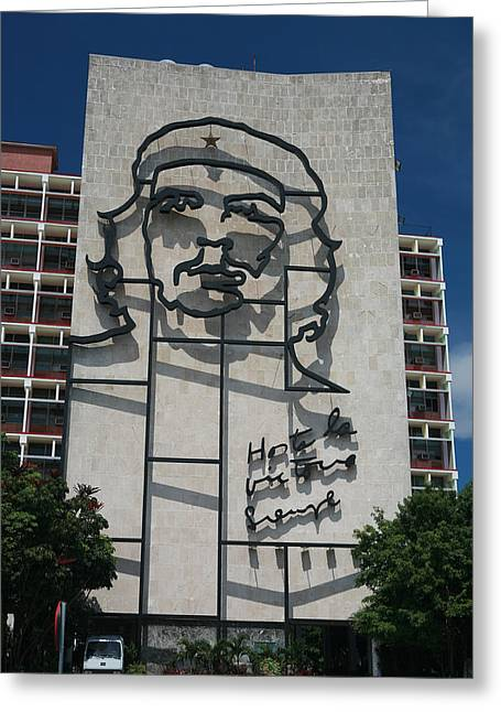 Marxists Greeting Cards - Che Greeting Card by Joe Burns