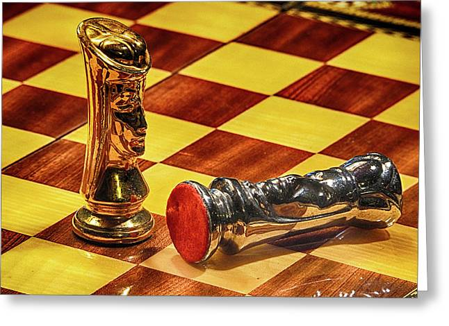 Checkmate Greeting Card by C H Apperson