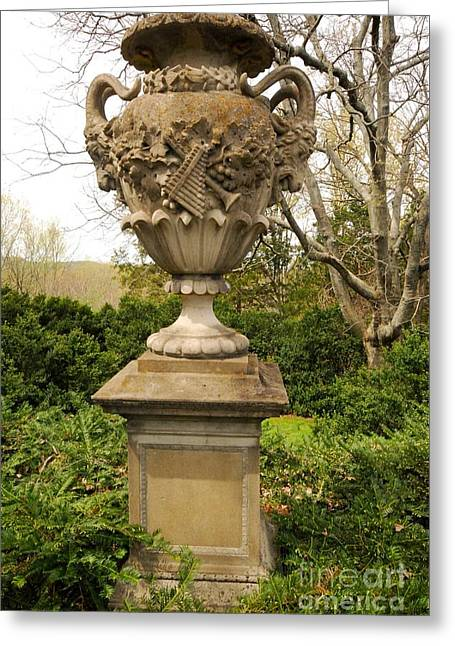 Cheekwood Gardens Greeting Cards - Cheekwood Urn Greeting Card by Donald Groves