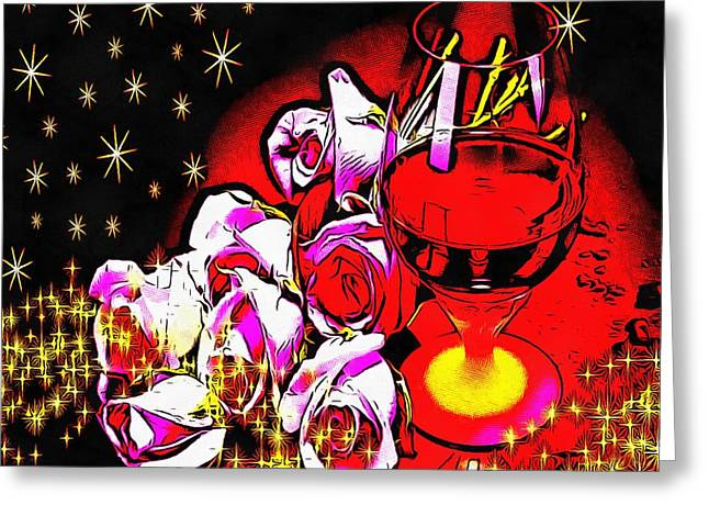 Cheer On Digital Greeting Cards - Cheers Greeting Card by Catherine Lott