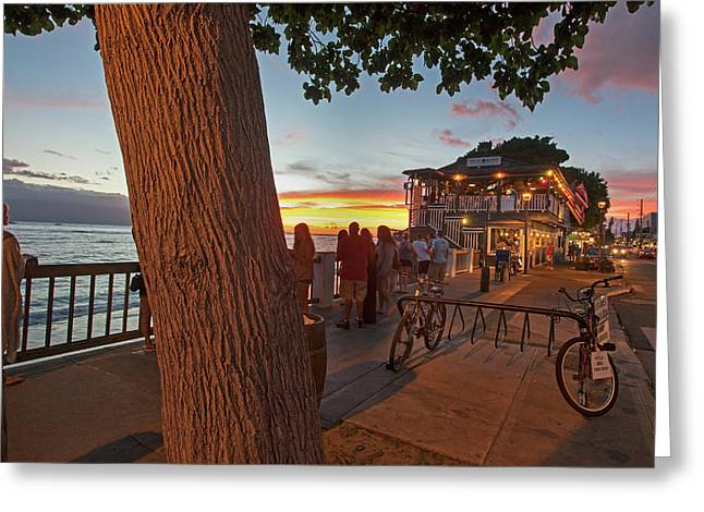 Cheeseburger In Paradise Greeting Card by James Roemmling