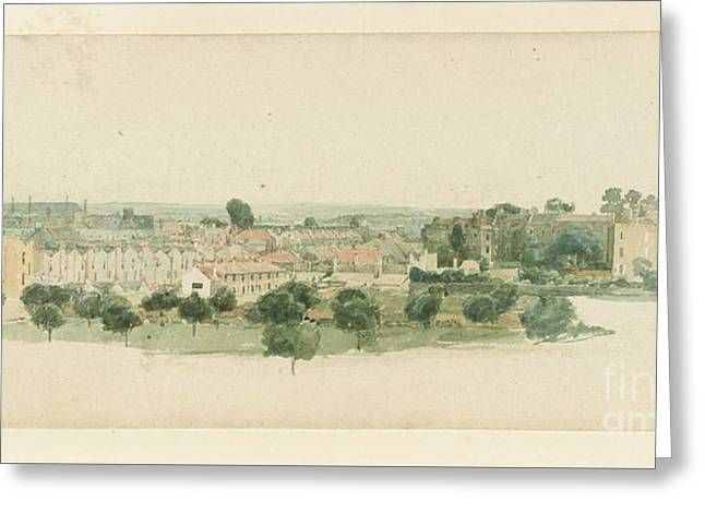Chelsea Near The Garden Of The Apothecaries  Greeting Card by Thomas