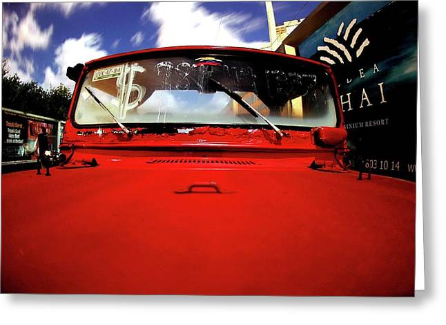Mike Lindwasser Photography Greeting Cards - Cherikee Red Two Greeting Card by Mike Lindwasser Photography