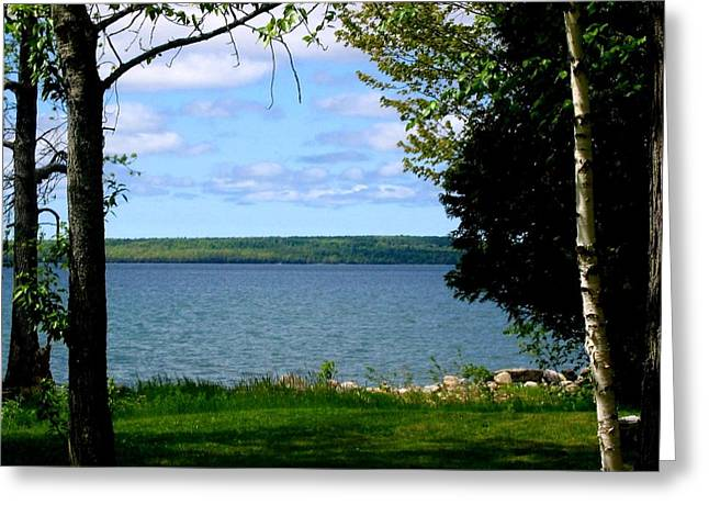 Manitoulin Greeting Cards - Cherish the Day Greeting Card by Jessica Tolemy