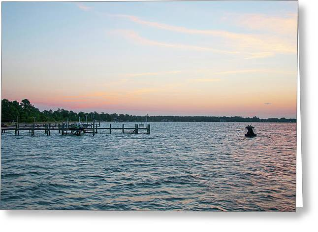Chesapeake Bay - Piney Point Maryland Greeting Card by Bill Cannon