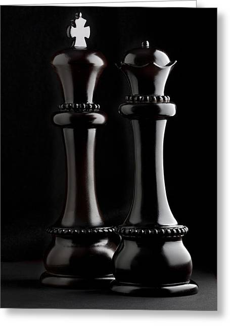 Chessmen Greeting Cards - Chessmen I Greeting Card by Tom Mc Nemar