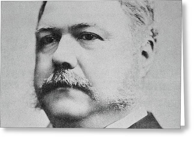 Chester Arthur  Greeting Card by American School