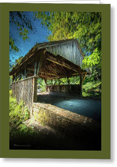 Chester Pennsylvania Bridge Greeting Card by Marvin Spates