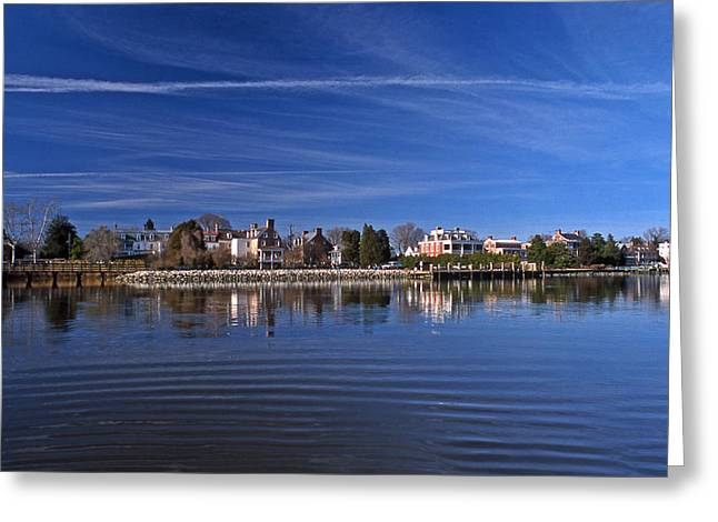 Md Photographs Greeting Cards - Chestertown Maryland Greeting Card by Skip Willits