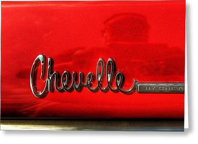Chevelle By Chevrolet  Greeting Card by Jame Hayes