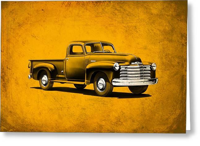 Chevrolet 3100 Greeting Card by Mark Rogan