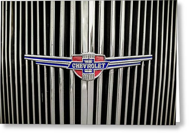Chevrolet Greeting Card by Caitlyn Grasso