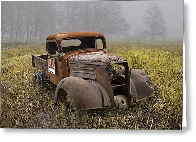 Randy Greeting Cards - Chevy Pickup for Sale Greeting Card by Randall Nyhof