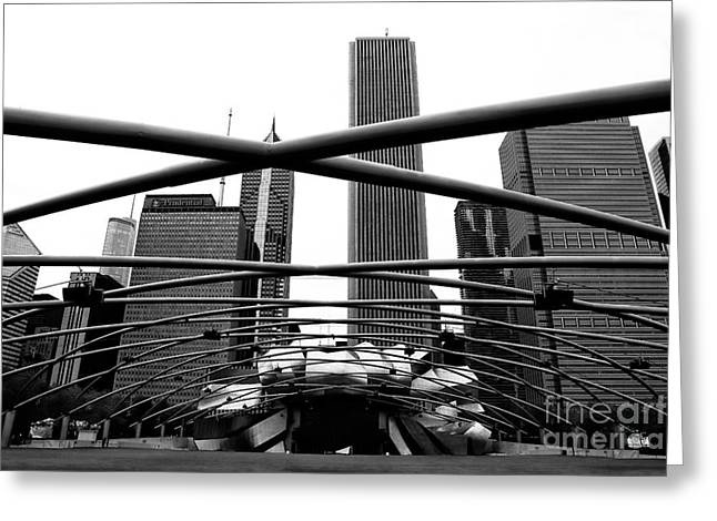 Artist Photographs Greeting Cards - Chicago Dimensions Greeting Card by John Rizzuto
