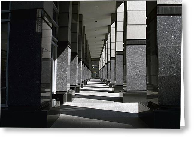 Chicago Fifty Shades Of Gray Greeting Card by Thomas Woolworth