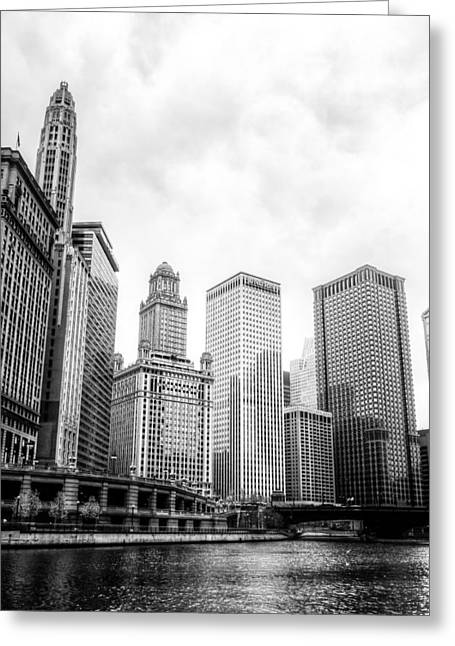 River Scenes Greeting Cards - Chicago River II Greeting Card by Drew Castelhano