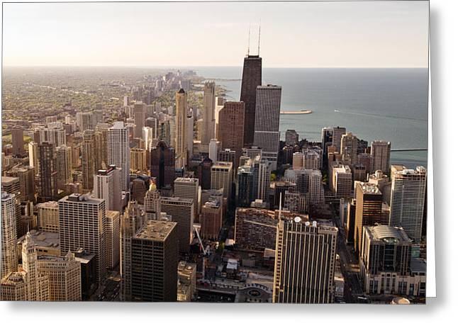 Chicago Greeting Card by Steve Gadomski