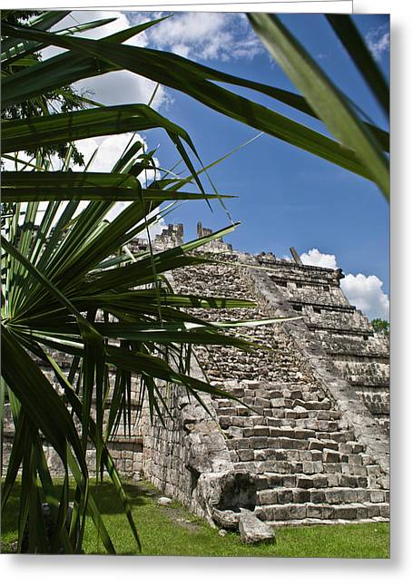 Solidity Greeting Cards - Chichen Itza 2 Greeting Card by Douglas Barnett