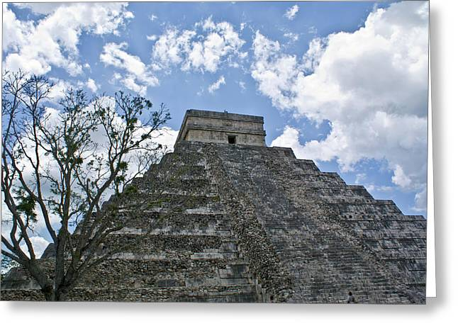 Solidity Greeting Cards - Chichen Itza 6 Greeting Card by Douglas Barnett