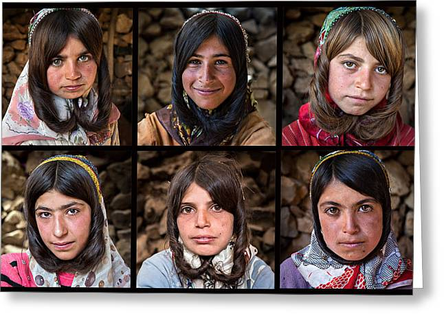 Documentary Photographs Greeting Cards - Chignon Greeting Card by Mohammadreza Momeni