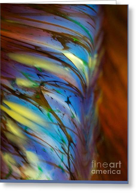 Chihuly 2 Greeting Card by Glennis Siverson