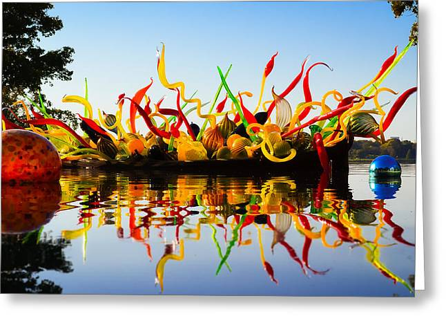 Chihuly Glass Greeting Cards - Chihuly Greeting Card by Kevin Landry