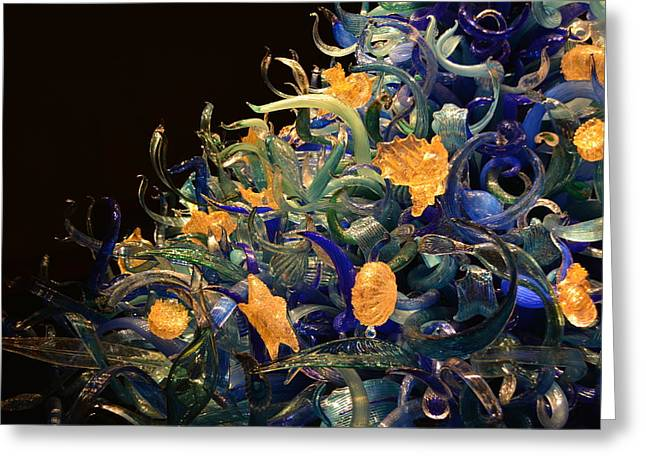 Chihuly Sea Greeting Card by John Zocco