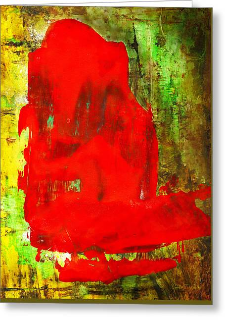 Child In Time - Abstract Painting Greeting Card by Modern Art Prints