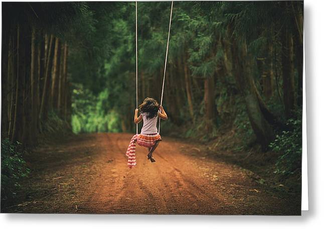 Childhood Greeting Card by Rui Caria