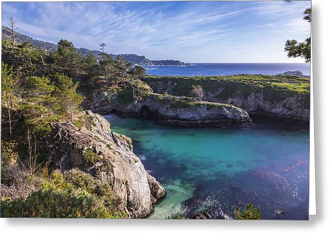 China Cove Greeting Cards - China Cove Greeting Card by Joseph S Giacalone