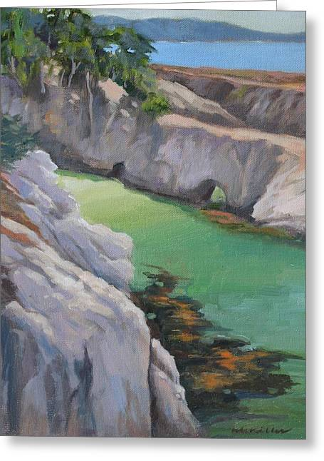 China Cove Greeting Card by Maralyn Miller