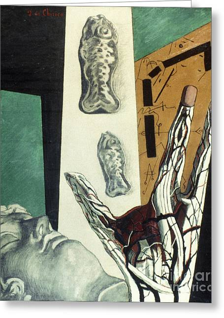 Chirico Greeting Cards - Chirico: Arch, 1914 Greeting Card by Granger