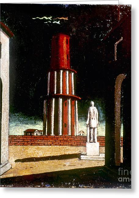 Chirico Greeting Cards - Chirico: Grand Tour, 1914 Greeting Card by Granger