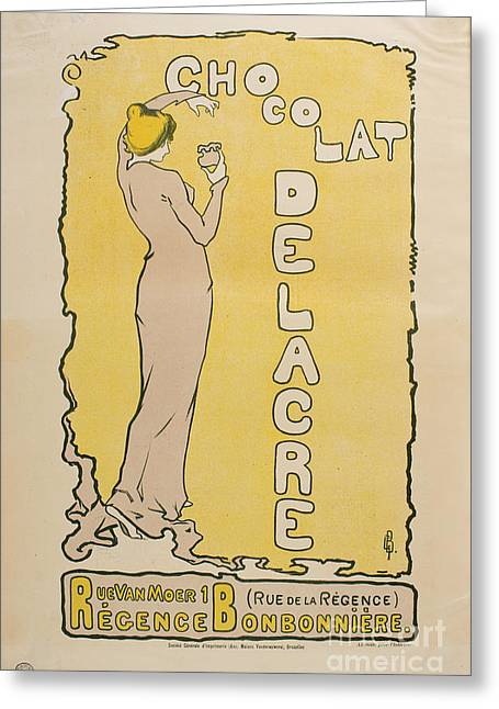 Chocolat Delacre Greeting Card by MotionAge Designs