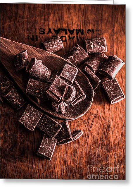 Chocolate Kitchen Artwork Greeting Card by Jorgo Photography - Wall Art Gallery