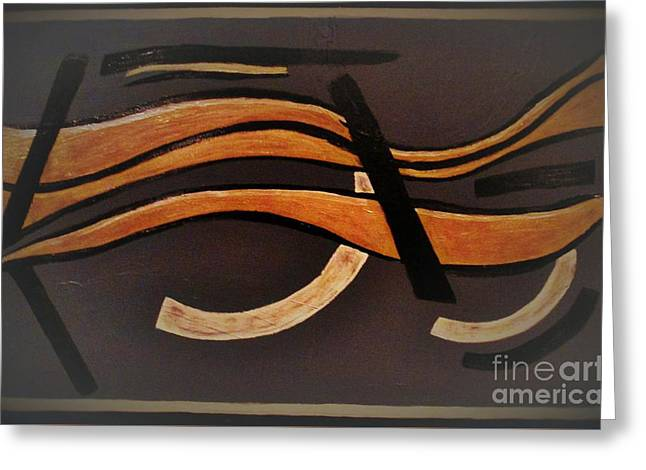 Abstract Movement Greeting Cards - Choices Greeting Card by Liz Lafalce