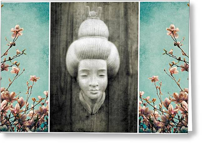 Choose Happiness Greeting Card by Patricia Strand