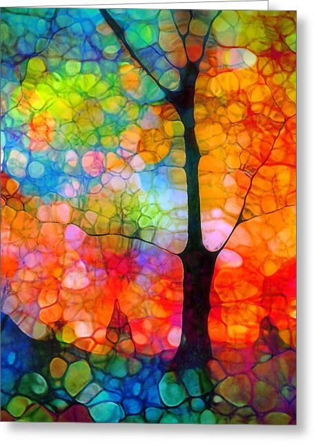 Choosing Happiness Greeting Card by Tara Turner