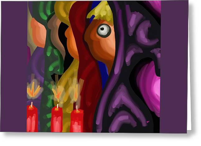 Spiritual Greeting Cards - Chosen Ones Greeting Card by Mark Greulach