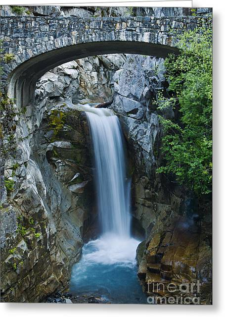 Overhang Greeting Cards - Christine Falls Greeting Card by Greg Vaughn - Printscapes