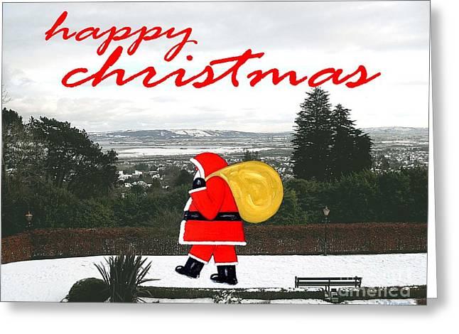 Christmas Mixed Media Greeting Cards - Christmas 23 Greeting Card by Patrick J Murphy