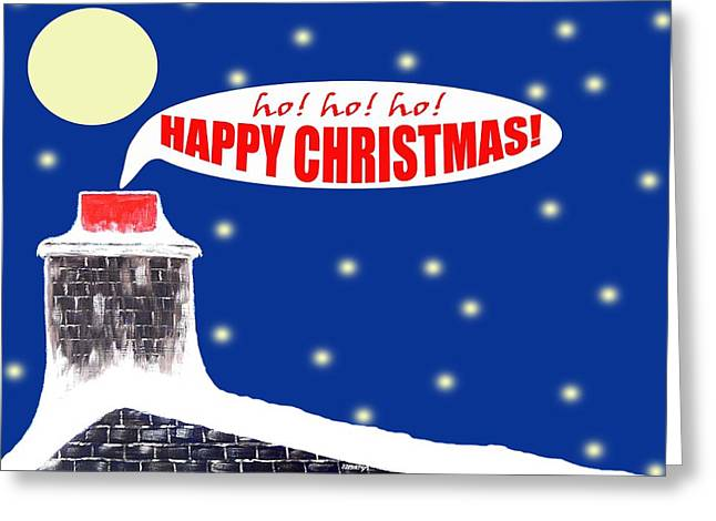 Christmas Mixed Media Greeting Cards - Christmas 9 Greeting Card by Patrick J Murphy