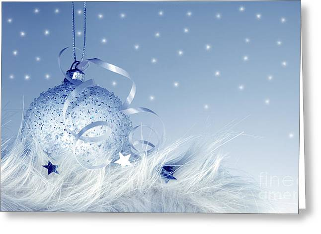 Fur Balls Greeting Cards - Christmas and New Year ornament Greeting Card by Anna Omelchenko