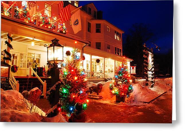 Christmas Bright Greeting Card by James Kirkikis